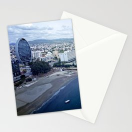 Cloudy Limassol Stationery Cards