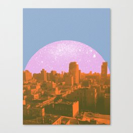 Metropolis Landing II Canvas Print