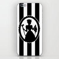 black widow iPhone & iPod Skins featuring Widow by babydark