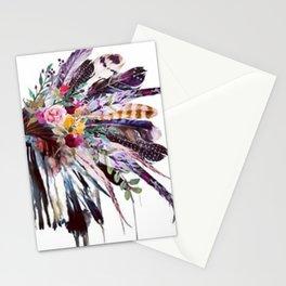 Indian Headdress Stationery Cards