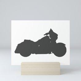 Shopper bike Mini Art Print