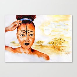 """Princess of Zamunda"" Canvas Print"
