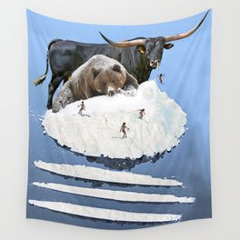 Powder Day Wall Tapestry
