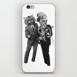 The Made Us Detectives (1979) Monochrome iPhone Skin