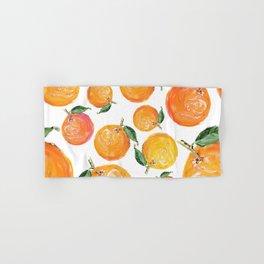 Rome Forest Oranges Hand & Bath Towel