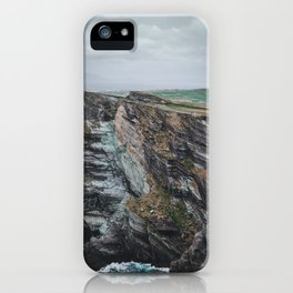 Up on the Kerry Cliffs iPhone Case