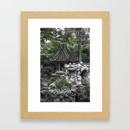 Colorless Shanghai1 Framed Art Print