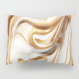MARBLE CREAM Pillow Sham