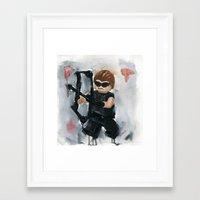 avenger Framed Art Prints featuring Avenger Lego by Toys 'R' Art