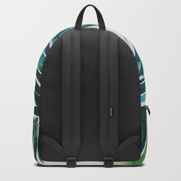 Dark Palm trees Backpack
