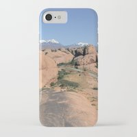 utah iPhone & iPod Cases featuring Moab Utah by BACK to THE ROOTS