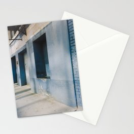 Blue Street Abstracts 1 Stationery Cards