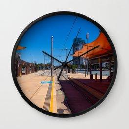 Broadbeach Light Rail Station Wall Clock