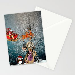 Tangled of Christmas Stationery Cards