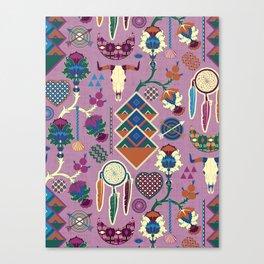 Bohemian&Tribal Canvas Print