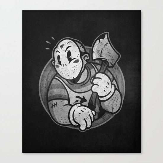 HorrorToon 2: Nightmare on Toon Street Canvas Print