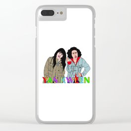 Yas Kween - Broad City - Abbi & Ilana Clear iPhone Case