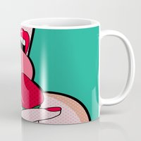 gta Mugs featuring sexy  by mark ashkenazi