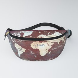 world map 19 Fanny Pack