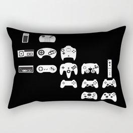 History of gaming Rectangular Pillow