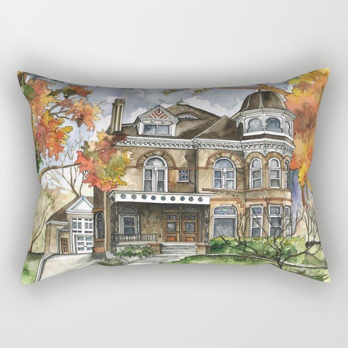 Victorian Autumn Rectangular Pillow
