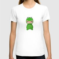 muppet T-shirts featuring A Boy - Kermit the frog by Christophe Chiozzi