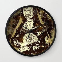 Moan-a-Lisa Wall Clock