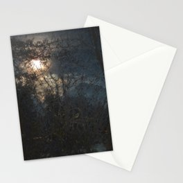 New Year's Moonlit River Stationery Cards