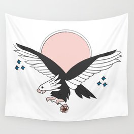 Eagle of the free and the brave Wall Tapestry