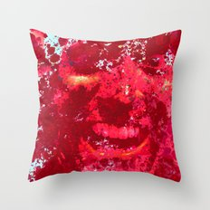 Blood and Ash  Throw Pillow