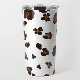 Modern Animal // White Travel Mug