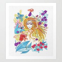 Fiesta de Bichos Art Print