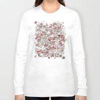 waldo Long Sleeve T-shirts featuring La Fiesta by Walmazan