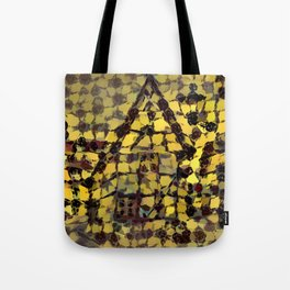 Abstract German House Tote Bag