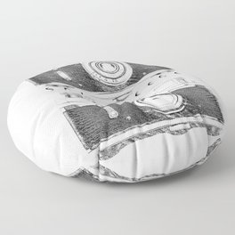 SAY CHEESE Floor Pillow