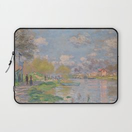 Spring by the Seine Laptop Sleeve