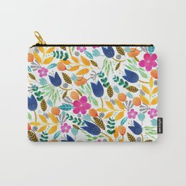 Flower Mayhem Carry-All Pouch
