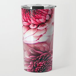 Pink asters Travel Mug