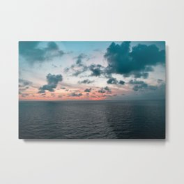 Somewhere Over The Sunset Metal Print