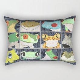 Frogs horizontal Rectangular Pillow