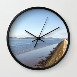 The River Tay Dundee 1 Wall Clock