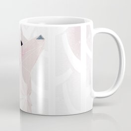 Fox in the Snow Coffee Mug