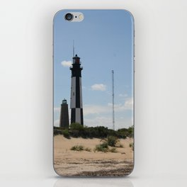 Short And Tall Cape Henry Lights iPhone Skin
