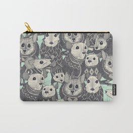 sweater mice mint Carry-All Pouch