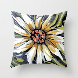 Daisy Death Throw Pillow