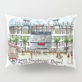 2017 TaxSlayer Gator Bowl Pillow Sham