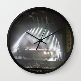 Breathe, Breathe In The Air Wall Clock