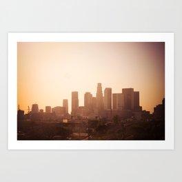 la L.A. Art Print