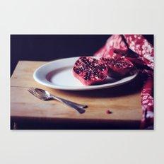 pomegranate, 2 Canvas Print