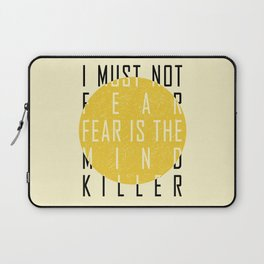 Dune - The Litany Against Fear (BLK) Laptop Sleeve